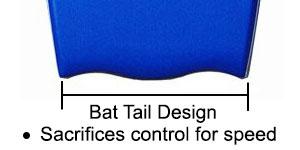 Custom X Boards Bat Tail
